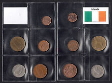 Set composto da 5 monete IRLANDA 1/2 Penny 1 2 5 20 Pence Conser vedi foto