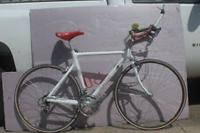 Kestrel 200 SC, Full Carbon, 53cm, white, Dura Ace 2x8 group with hubs,Aero bars