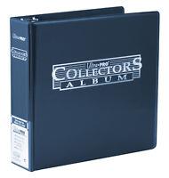 Ultra Pro 3 Ring BLUE Collector Album Binder FOLDER Pokemon MTG AFL Yugioh Cards