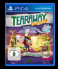 Tearaway Unfolded - Messenger Edition (Sony PlayStation 4, 2015, DVD-Box)