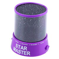 Chic LED Starry Night Sky Projector Lamp Kids Gift Star light Cosmos Master WU