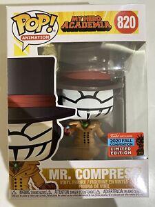 Mr. Compress MHA #820 Funko pop! vinyl NYCC 2020 SHARED RARE in hand