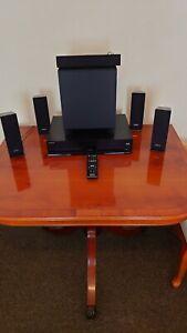 Sony Cinema 6.1 Surround Sound System HBD-E370 3D Blu Ray Player