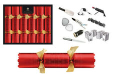 Tom Smith Christmas Crackers 6 x 14 Red  Deluxe Crackers