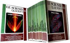 Lotto 32 rivista LE SCIENZE Quaderni dal n.31 al 63