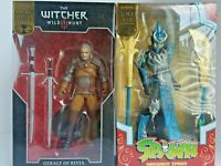 McFarlane Gold Label Collection Mandarin Spawn & Geralt of Rivia Lot