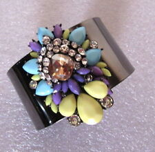 Unbranded Cubic Zirconia Alloy Bangle Costume Bracelets