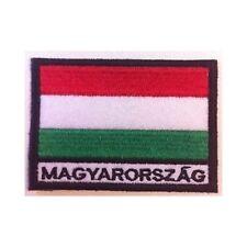 [Patch] BANDIERA UNGHERIA cm 7 x 5 toppa ricamata ricamo MAGYARORSZÁG -243