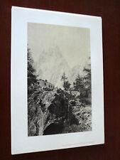 STAMPA RIPRODUCENTE FOTO DEL 1860 (N° 8)