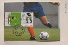 yt 3483  FRANCE  Carte Postale Maximum FOOTBALL