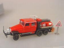 IFA G5 Feuerwehr Löschfahrzeug  - Herpa 1:87 - 049900 #E