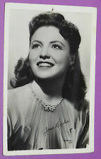 CPA CINEMA CARTE POSTALE PHOTO 1950's JOAN LESLIE HOLLYWOOD ACTRICE