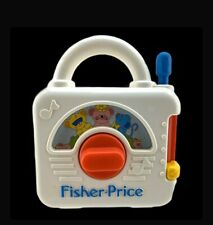 Vintage 1992 Fisher Price Radio Musical Wind 3 Blind Mice Up Fwo Great Condition