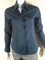 BRUCE FIELD GIRLS Taille L 40 Superbe chemise manches longues noire femme blouse