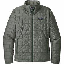 Patagonia Forge Grey Size L Men's Nano Puff Winter Jacket 199$