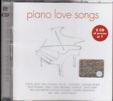 Elton John, Phil Collins, R.E.M. Chicago, Rod Stewart etc: Piano Love Songs - CD
