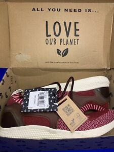 Love Our Planet Vegan Approved trainers running shoes size 6 Uk BNWT RRP £35