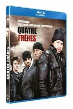 QUATRE  4 FRERES MARK WAHLBERG  BLU RAY  NEUF SOUS CELLOPHANE