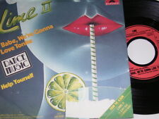 """7"""" - Lime - Babe we´re gonna love tonite & Help yourself - 1982 # 4360"""
