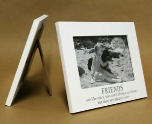 Rustic Best Friends Forever Photo Frame