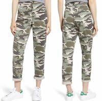 J.Crew Slouchy Boyfriend Camouflage Chino Pants Size 0 Petite