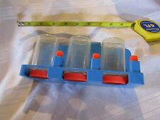 Fisher Price Fun with Food coin sorter purse change money belt clip grocery shop