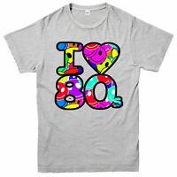 I Love 80's T-Shirt Funny Vintage Retro Music Festival Gig Adult & Kids Tee Top