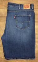 Levi's 569 Large Waist Denim Jean Shorts Size W52