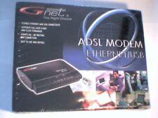 ** NEW ** SEALED ** Gnet ADSL Ethernet / USB BB0062 GBB0062B/TM External Modem