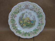 Royal Doulton Brambly Hedge Four Seasons Plate ~ 'Spring' ~ Excellent Condition