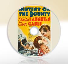 Mutiny On The Bounty (1935) DVD Adventure Classic Movie / Film Clark Gable