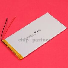 3.7V 6000mAh Polymer Battery 3572140 3.5*72*140mm with PCM Rechargeable