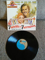 "7 Freundinnen para 7 Hermanos + Rose Marie Soundtrack LP Vinyl 12 "" 1972 VG/VG+"