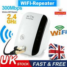 WiFi Signal Repeater Extender Range Booster Internet Network Amplifier UK Plug