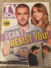 TV SOAP MAGAZINE 30 APRIL 2017 SHAYNE WARD SAMIA SMITH CHRIS HARPER LIAM FOX