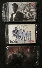 2002/03  James Bond 007 Trading Card Sets SEALED w/ Costume Card LOT of 3