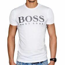 Hugo Boss Men's Original T-shirt 100% Cotton Big Logo Authentic With Tags
