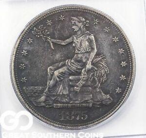 1875-CC Trade Silver Dollar Trade XF-45 #363