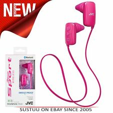 JVC Gumy Sports Bluetooth Wireless In-Ear Headphones│Android│iOS│HAF250 - Pink