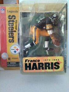 NFL Pittsburgh Steelers 2005 McFarlane Legends Franco Harris