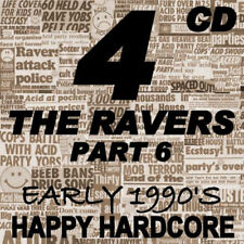 RAVE  ACID HOUSE  CD  OLD SKOOL  4 the RAVER #6   JUNGLE  HARDCORE