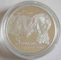 Australien 5 Dollars 1994 Masterpieces in Silver Charles Sturt 1 Oz Silber