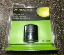 NEW CLAMSHELL SEALED MICROSOFT XBOX ORIGINAL OEM MEMORY UNIT CARD K02-00001