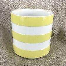 Vintage Yellow Cornishware Storage Jar T G Green Cornish Container