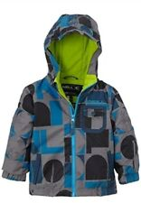 O'NEILL Boys Grey & Blue Dalton Insulated 8K/8K Ski Jacket Coat 2 Years BNWT