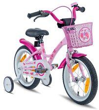 Prometheus Kinderfahrrad 14 Zoll Mädchen rosa Pink mit Stützrädern ab 4 Jahren