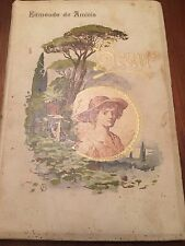 EDMONDO DE AMICIS HEART /CUORE Book for Boy Antique Vintage translated by Godkin