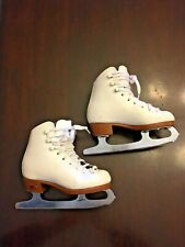 "Riedell Figure Skates Size 2 Youth Ice Skates 7"" long shoe 8"" long blade"
