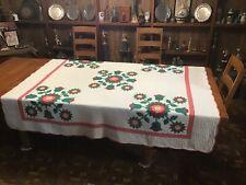 Vintage Quilt...Rose Wreath