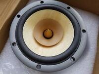 pair 2 unit DavidLouis  HiEND 6.5 inch fullrange speaker   PK lowther KO fostex